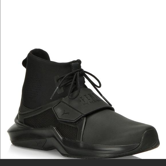 low priced e4ade 7ed3e Fenty x Puma Rihanna hi ignite nwob black sneaker